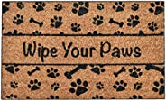 Ninamar Door Mat Wipe Your Paws Natural Coir – 75 cm x 44 cm