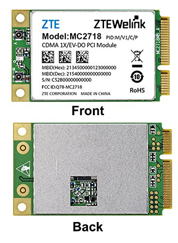ZTE MC2718 CDMA2000 1x/EV-DO Rev A (Qualcomm based) USB 2.0 minicard Sprint by ZTE