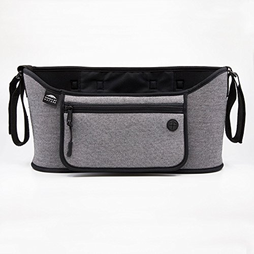Nordic By Nature Detachable Stroller Organizer With Insulated Cup Holders | Universal Fit With Adjustable Holders | Doubles As Backseat Organizer | The Stroller Caddy Bag Every Mom Needs | - The Do Help How Bees We