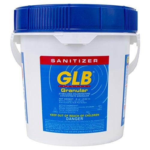 Advantis Tech 71220A GLB Stabilized Granular Chlorine 8 Lbs.