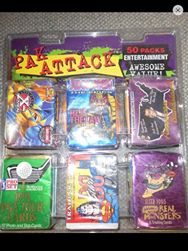 (50) Unopened Packs Tmnt Xmen Dc Superman Spider-man Nonsport Trading Cards Christmas Special Great Gift from Variety