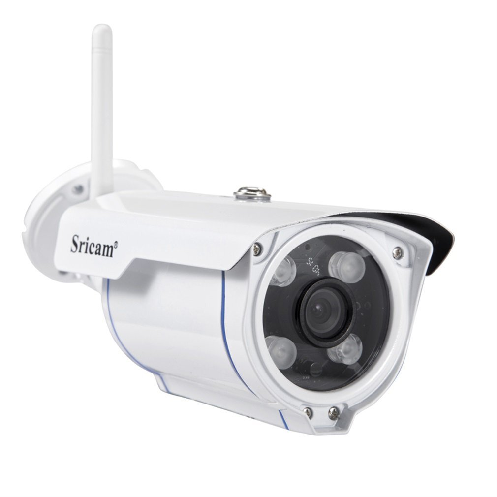 Sricam Wireless Security Camera Outdoor, 720P Motion Detection WIFI Camera, Night Vision, IP 66 Weatherproof, 4x Digital Zoom, MicroSD Recording