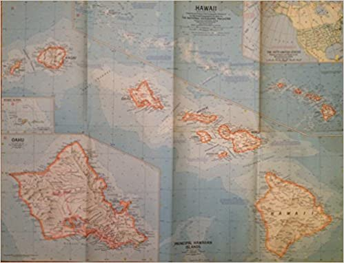 Hawaii national geographic magazine map vol 118 no 1 july 1960 turn on 1 click ordering for this browser gumiabroncs Image collections