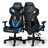 Gaming Chair, AutoFull Ergonomic Video Game Chair Mesh Back Swivel Executive Computer Racing chair with Lumbar Support