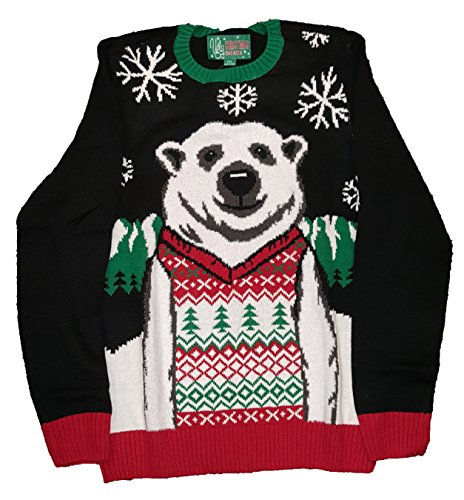 Christmas Polar Bear in a