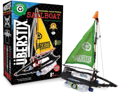 Electric Rc Sailboat - Uberstix Sailboat