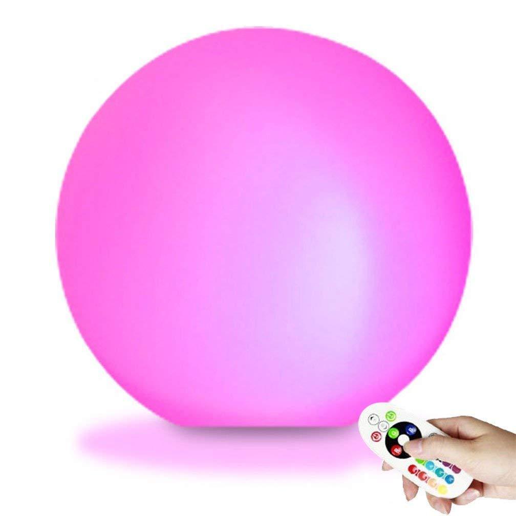 LED Luce Galleggiante, EONSMN 10  Spa Piscina Impermeabile Cambio colore Patio Cubi Galleggianti Globe Mood Light (25cm)