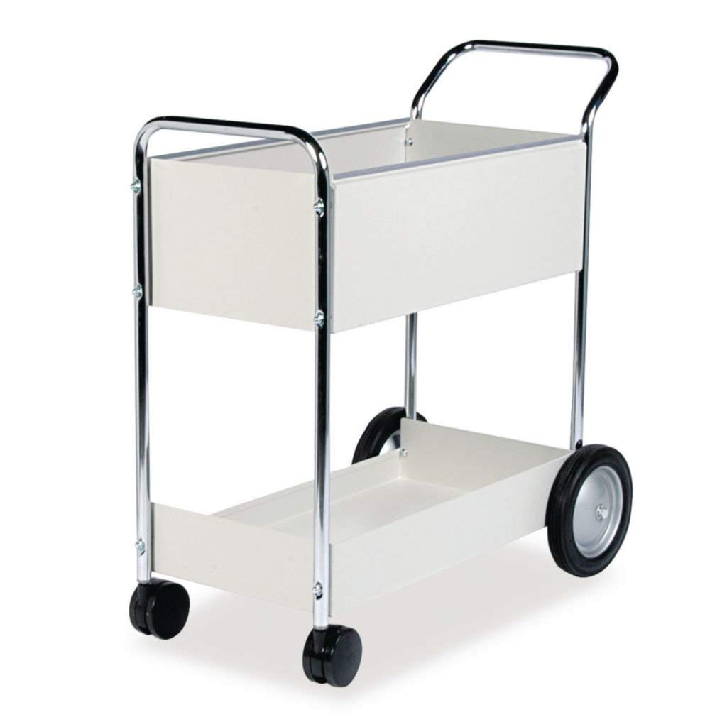FEL40924 - Material : Steel - Fellowes Steel Mail Cart - Each by Janitorial Supplies