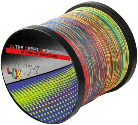 Ultra Craft Professional 4X PE Multicolor 0,15mm 15,5 kg 100 Meter