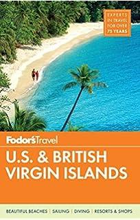 Fodor S U S British Virgin Islands Full Color Travel