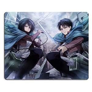 Shingeki No Kyojin Attack On Titan Mikasa Levi 01 Anime Gaming Mouse Pad