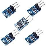 portable voltage regulator - Icstation AMS1117-5 DC Voltage Regulator Step Down Power Supply Module 6.5V-12V to 5V 800mA (Pack of 5)