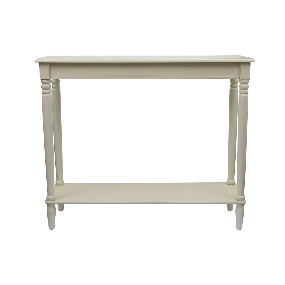 Décor Therapy FR1577 Simplify Console Table, Large, Antique White