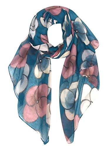 teal blue scarf - 8