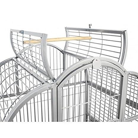Montana Cages Loros jaula, voliere, XL NEW Berlin - Platinum ...