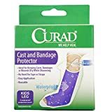 Best Medline hand shower - Curad Cast and Bandage Protector, Waterproof, Kid's Leg Review