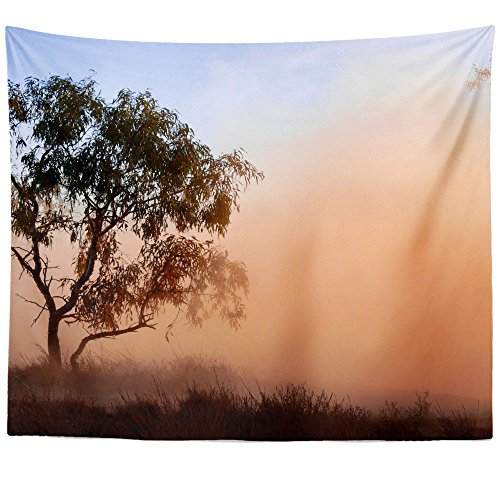 Westlake Art - Wall Hanging Tapestry - Dust Fog - Photography Home Decor Living Room - 51x60in