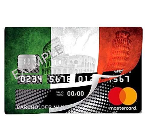 per carta di credito Sticker adesivo FIORI