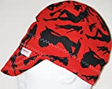 Comeaux-Caps-2000E-Red-Silhouette-one-size-fits-most
