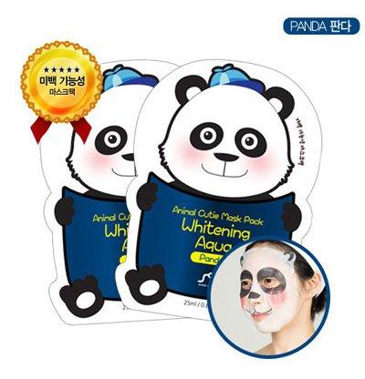 Animal Cutie Mask Pack Whitening Aqua Panda