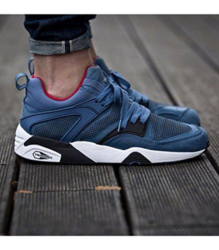 TRINOMIC BLAZE-BLU TECH zapatillas para hombre primera equipación Azul - azul