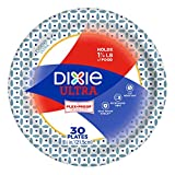 Dixie Ultra Paper Plates, 8 1/2 Inch Plates, 300 Count (10 Packs of 30 Plates)