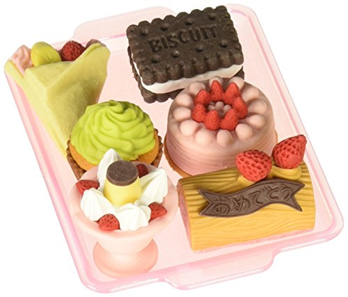Iwako Japanese Eraser Set - Dessert Assortment