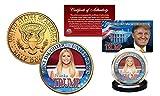 IVANKA TRUMP Presidential FIRST DAUGHTER 24K Gold Clad U.S. JFK Half Dollar Coin