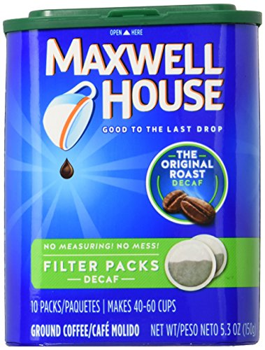 Maxwell House Filter Pack Roast Ground - Decaf - 10 ()