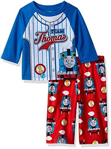 Price comparison product image Thomas the Train Baby Boys' 2-Piece Pajama Set,  Team Stripes,  24M