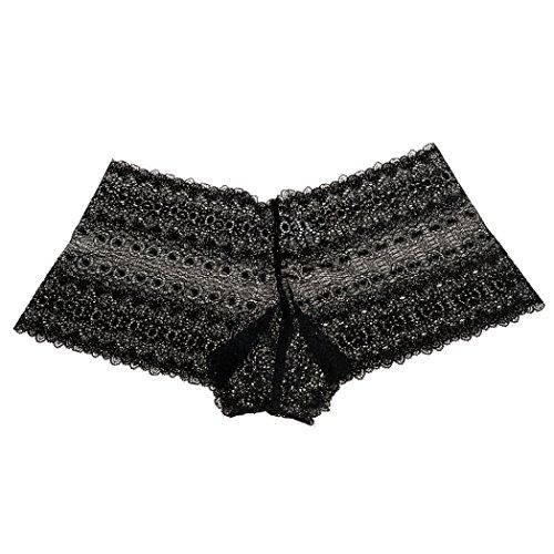 13e402f86f Koly Ropa Interior Bragas Sexy Elástico de Encaje Floral Tanga G-String  para Mujere Lencería