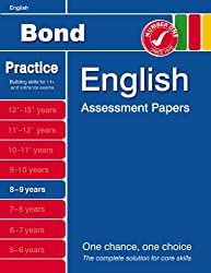 Bond Assessment Papers in English 8-9 years
