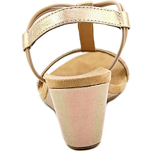 Style & Co.. Womens Mulan 2 Canvas Open Toe Casual Platform Sandals Pink/Rose Gold 65S6mEH