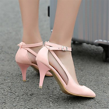 Deux Soirée ggx Talons amp; Basique Verni Velours Gladiateur amp; Cuir Printemps Chaussures à LvYuan D'Orsay white Pièces Femme AutomneMariage Escarpin nTxq0wf0A