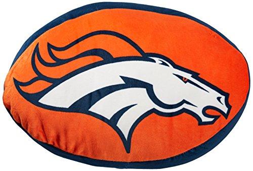 The Northwest Company NFL Denver Broncos Cloud Pillow, Blue, One - Broncos Soft Football Denver