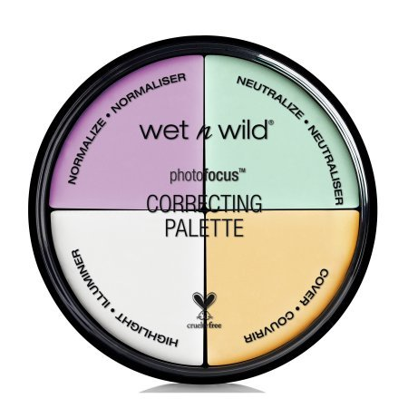 wet n wild Photo Focus Correcting Palette, Color (Color Focus Palette)
