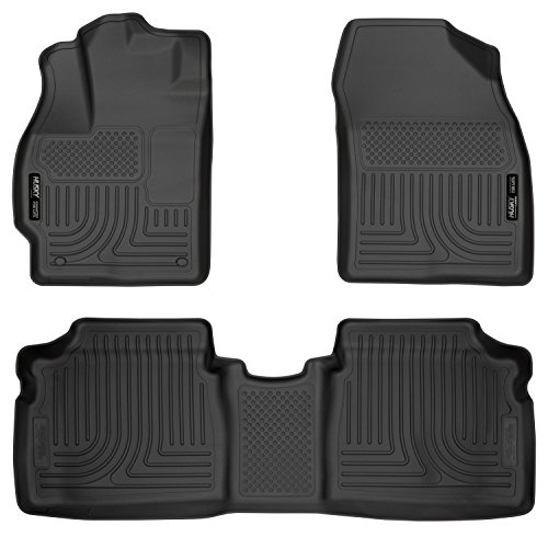 Husky Liners Front & 2nd Seat Floor Liners Fits 12-15 Prius Two/Three/Four/Five
