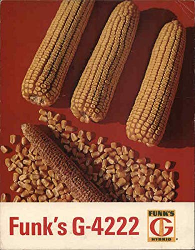 Vintage Advertising Postcard: Funk's G-4222 Hyrbid Corn Modern 1970's to Present