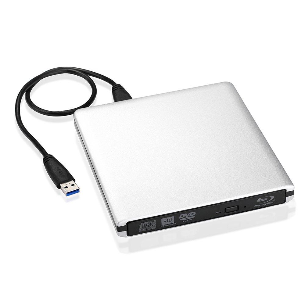 Blu-ray-Brenner werden unter anderem von VicTsing in einem schicken weißen Design angeboten.