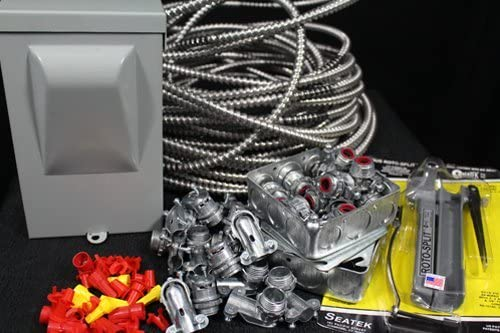 Amazon.com: Electrical Wiring Kit for Paint Spray Booth- 1PHASE: Home  ImprovementAmazon.com