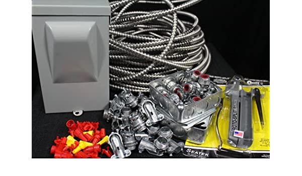 amazon com electrical wiring kit for paint spray booth 1phase