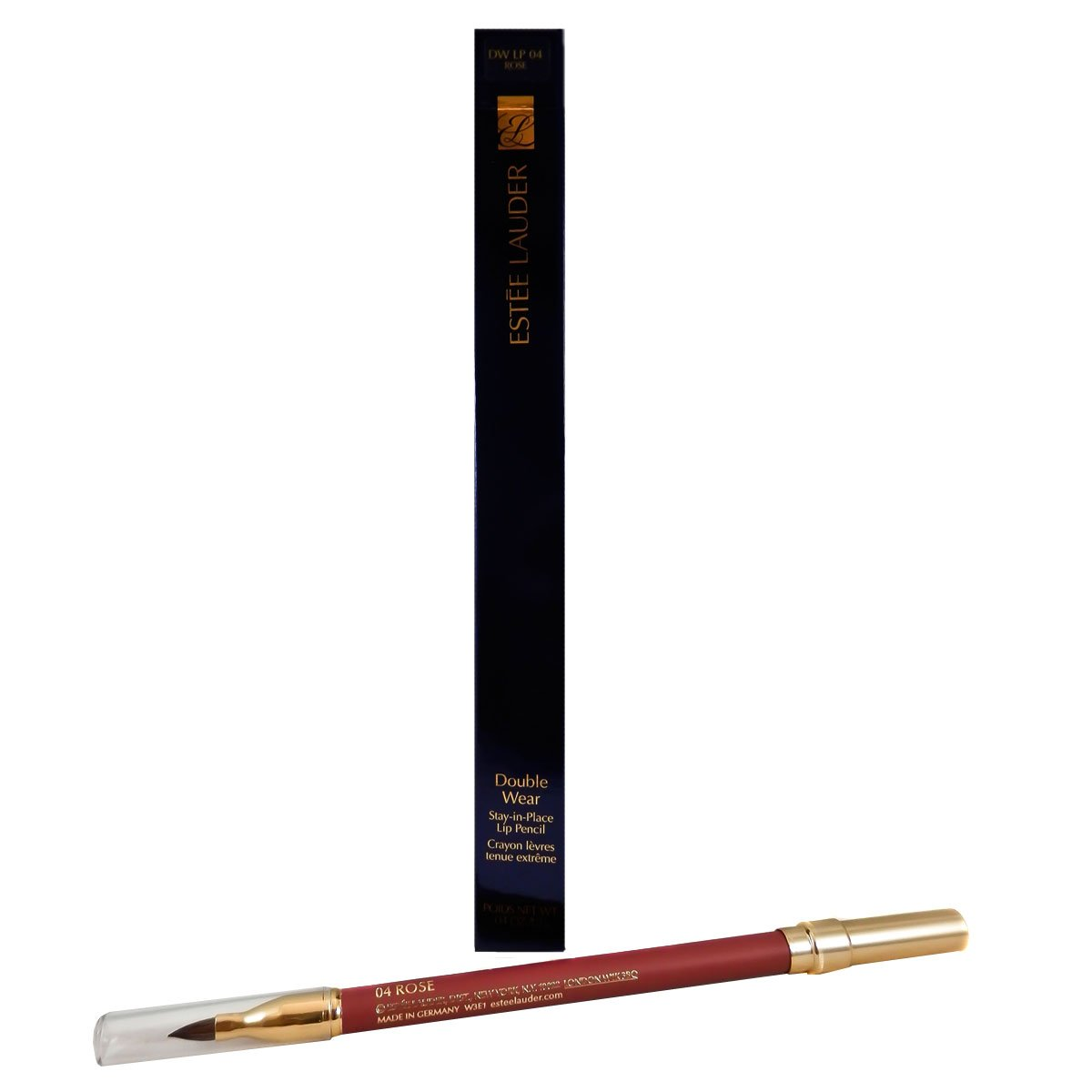 Estee Lauder Double Wear Stay-In-Place Lip Pencil for Women, 04 Rose, 0.04 Ounce