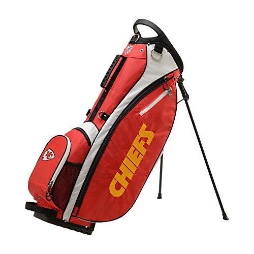 Kansas City Chiefs Golf Towel - Wilson 2018 NFL Carry Golf Bag, Kansas City Chiefs