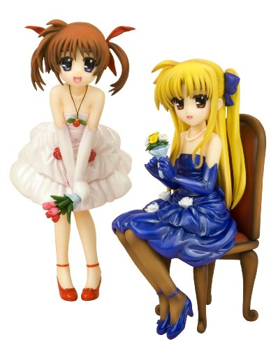 Takamachi Nanoha & Fate Testarossa -Dress- (1/8 scale PVC figure) [JAPAN] by Kotobukiya - Costumes Of Different Countries In Asia