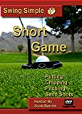 Swing Simple Short Game By Scott Barrett Golf Instruction DVD Video Putting Chipping Pitching Sand Shots