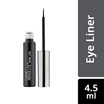 Lakme Absolute Shine Liner, Black, 4 5ml