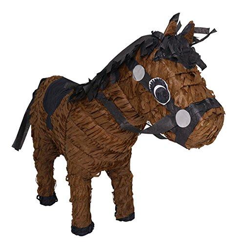 Brown Race Horse Pinata - Mexican Piñata - Handmade in Mexico ()