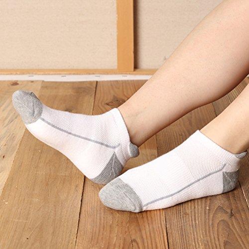 Heatuff Ankle Socks Running No Tab Sock 6 Pack