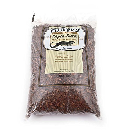 Cypress Mulch (Fluker Labs SFK36005 Repta-Bark All Natural Bedding, 8-Quart)