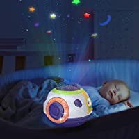 TUMAMA Baby Toy Gifts for Newborn 0 3 6 9 12 Months and Up, Toddlers Night Light Star Projector, Baby Sleep Soother…